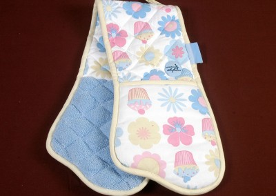 Printed Double Oven Glove 1