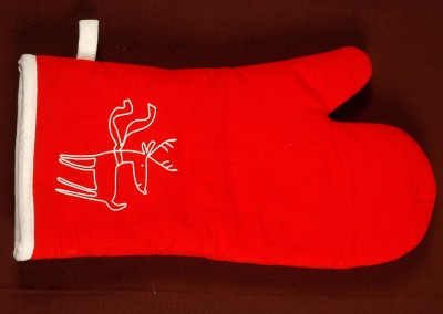 Printed Single Oven Glove 2